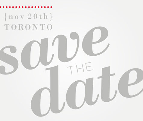 Canadian Design Blogger Meet Up Save the Date