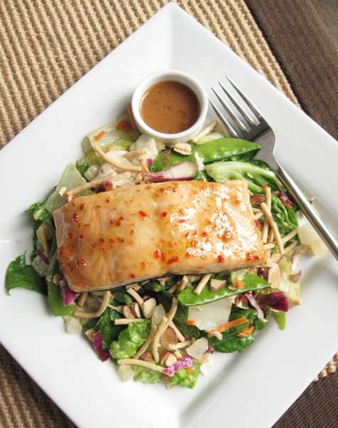 Glazed-Salmon-Salad