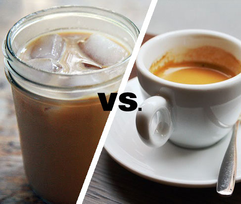 iced coffee vs hot coffee but what about cold brewed coffee?