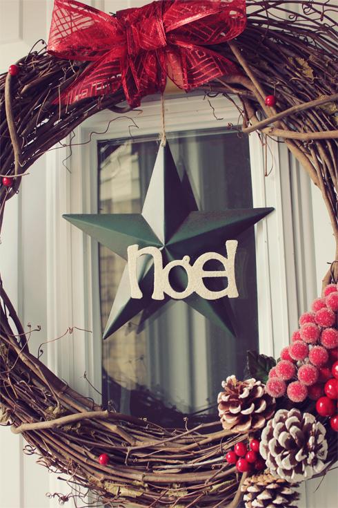 NOEL-Wreath-DIY
