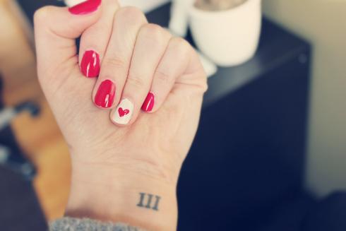 Heart-Manicure
