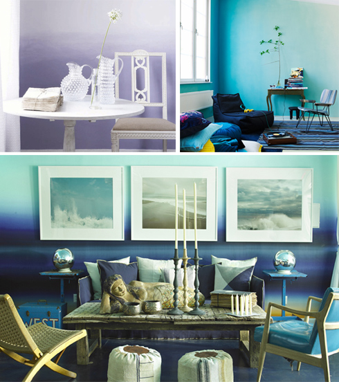 3 Home Decor Trends For Spring Brittany Stager: Dreamy Design Trend: Ombre Interiors