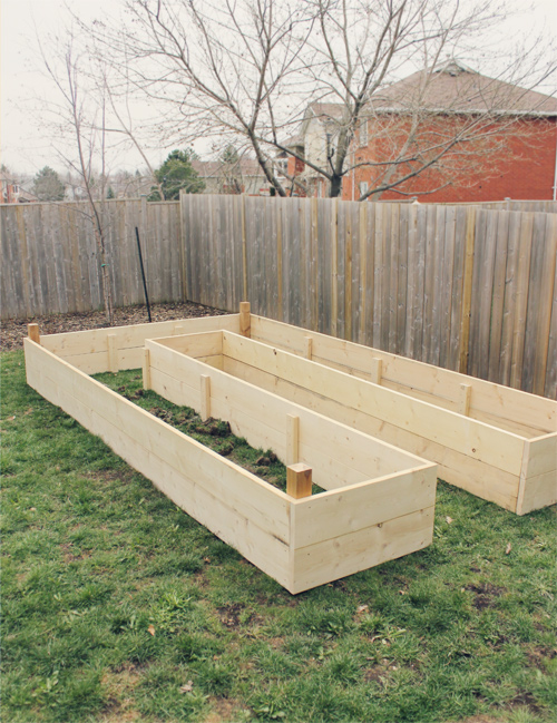 How To Build A U Shaped Raised Garden Bed // Drawing And Rendering U2022  Brittany Stager