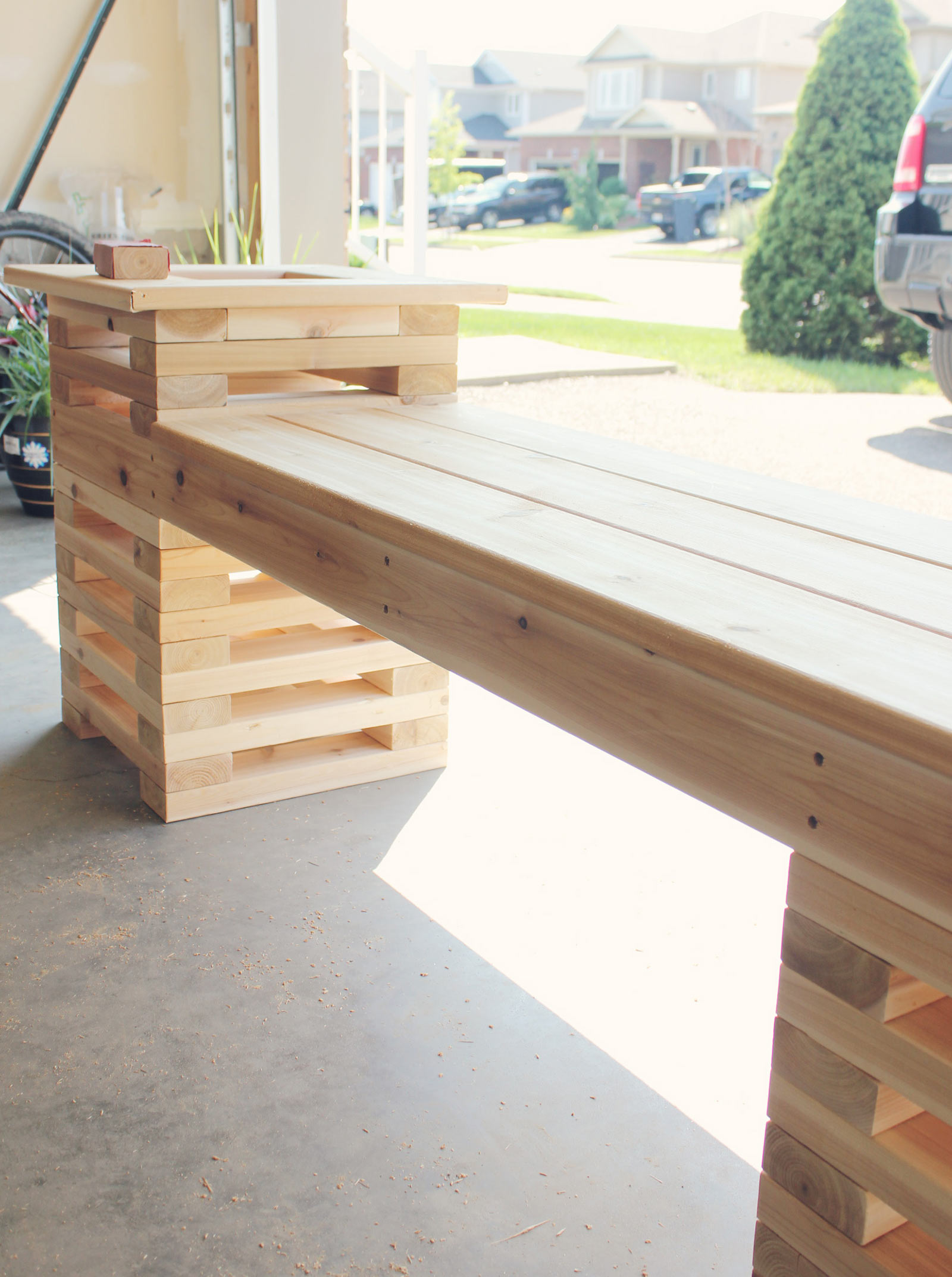 Summer DIY Challenge with The Home Depot // The Build - Brittany Stager
