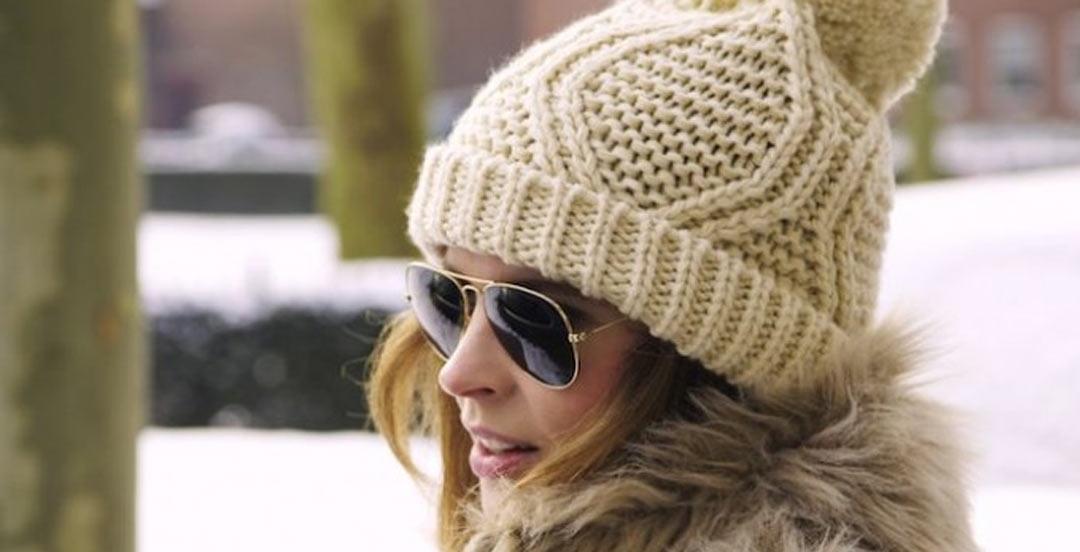 Pom-pom-Hat-Sunglasses