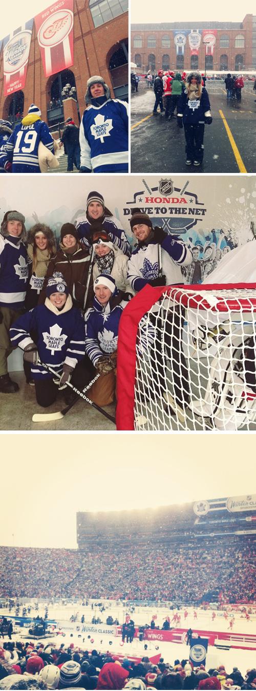 2014 Winter Classic Game in Ann Arbor