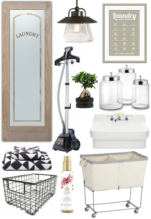 Clean and Tidy Laundry Room