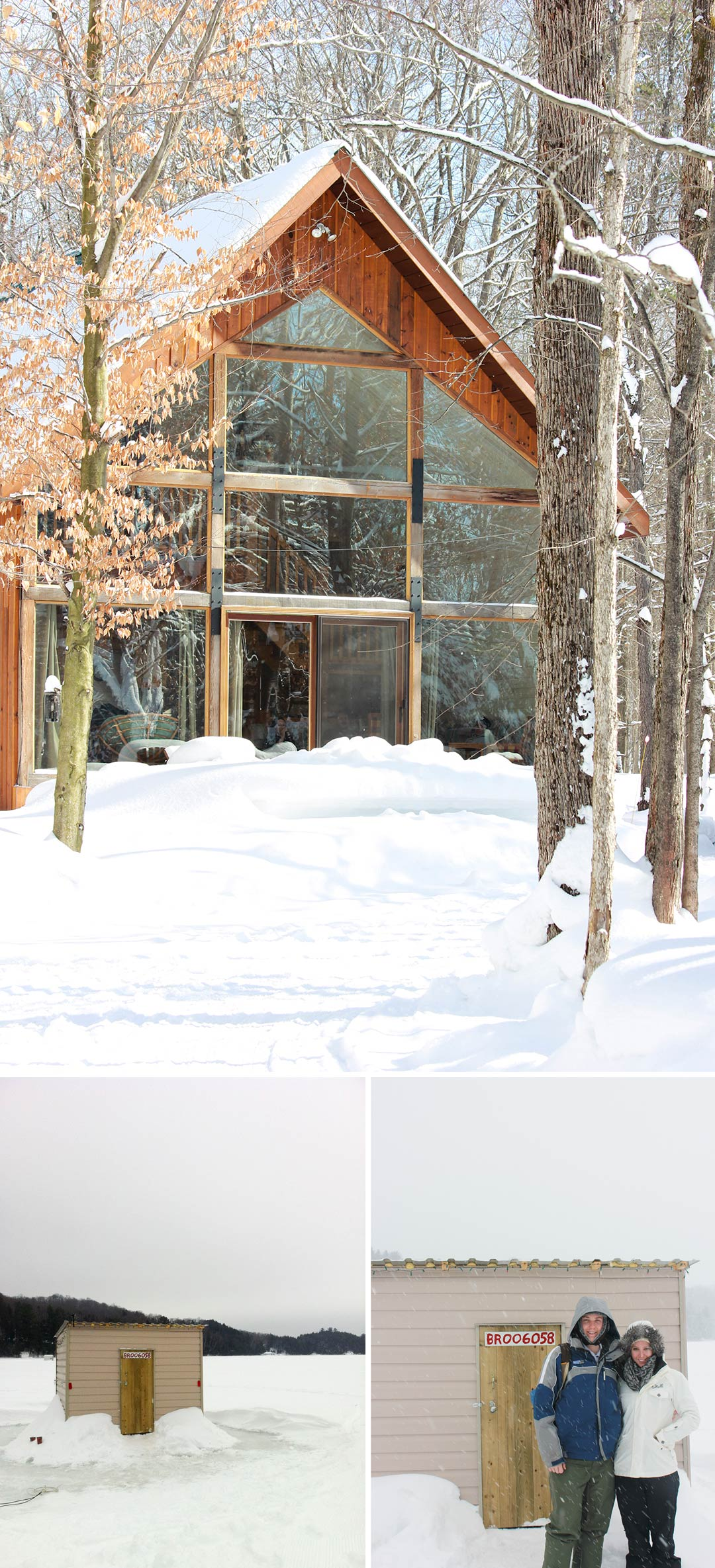 Muskoka: A Wintery Weekend Getaway