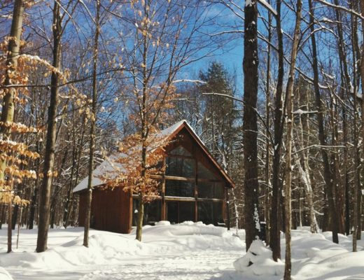 Muskoka Winter Cottage Vacation