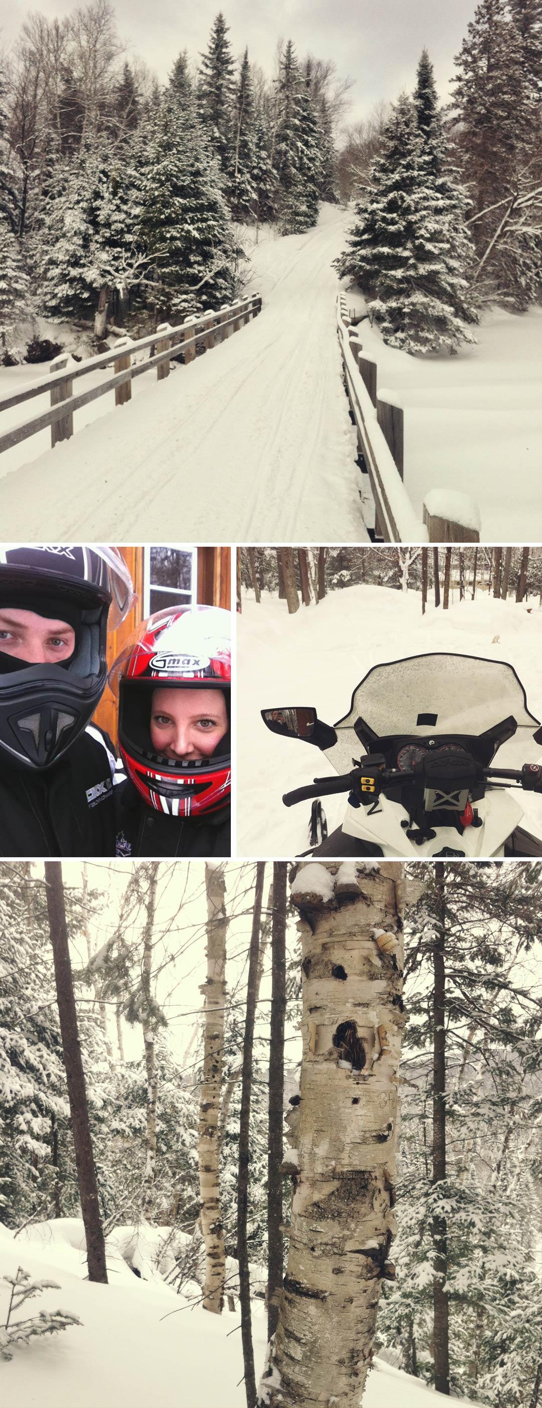 Muskoka: A Wintery Weekend Getaway