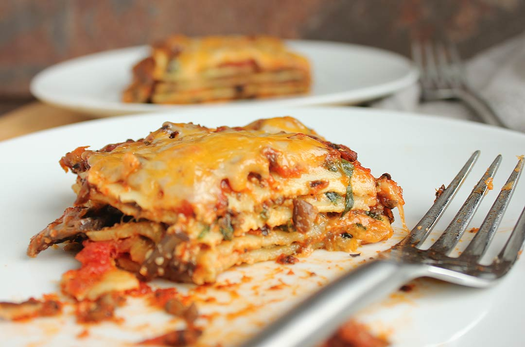 Valentine's Dinner Lasagna