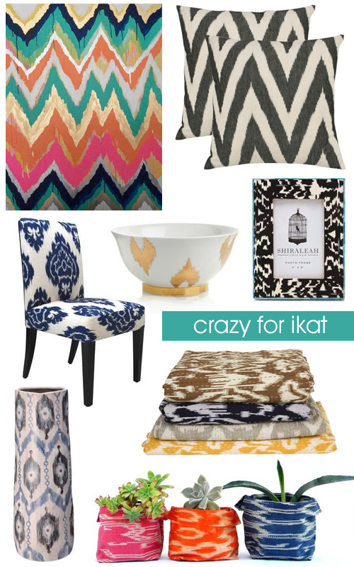 Crazy For ikat Patterns