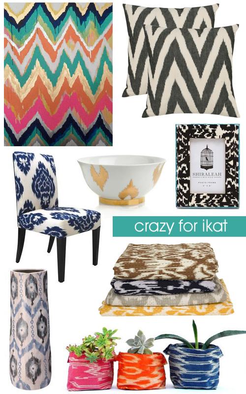 Crazy For ikat Patterns