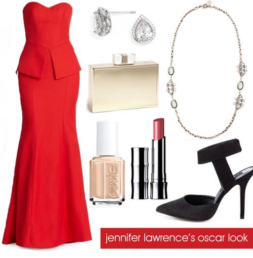 Jennifer Lawrence Oscar 2014