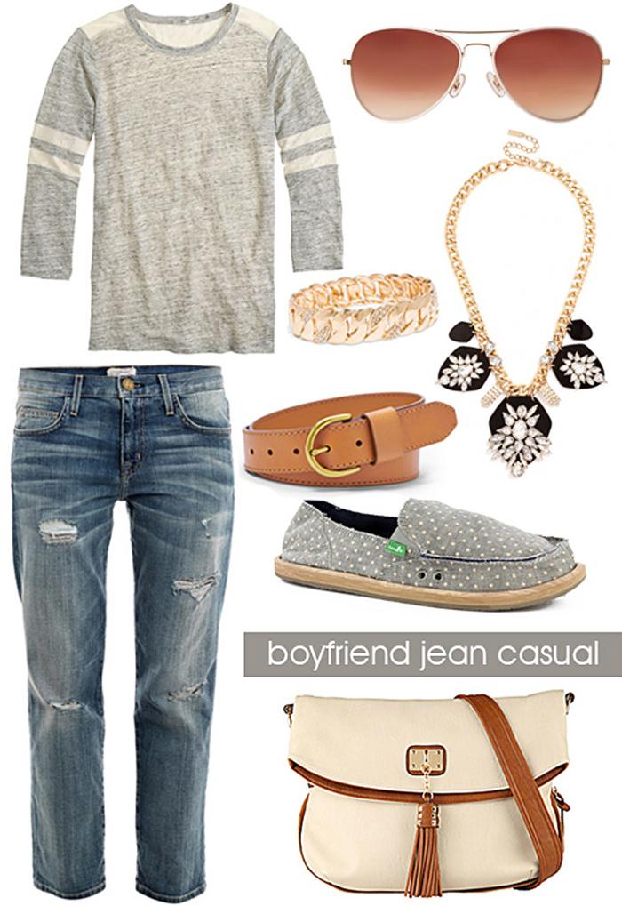 Boyfriend Jeans for Spring