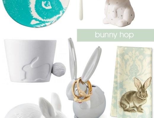 Easter Bunny Decor Items