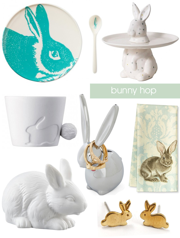 Easter Bunny Decor Items