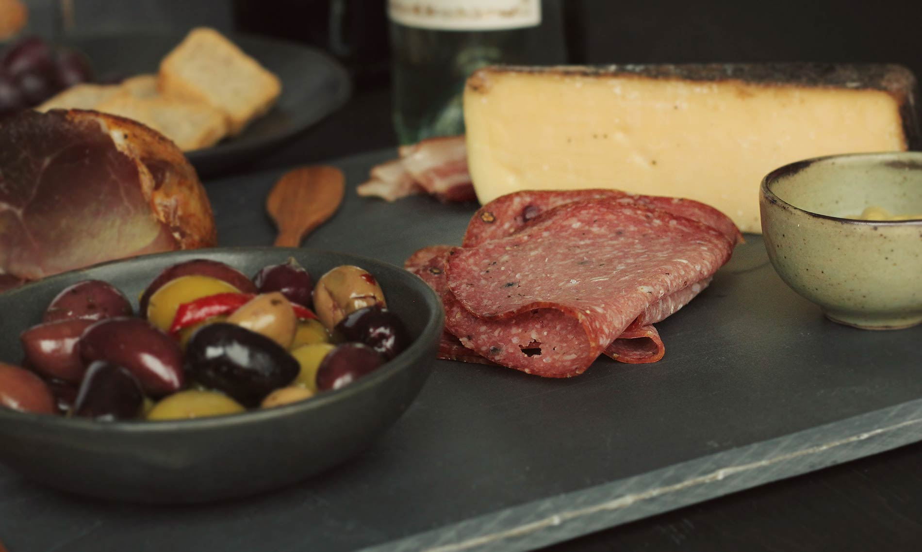 Santa Margherita Wine and Cheese Charcuterie