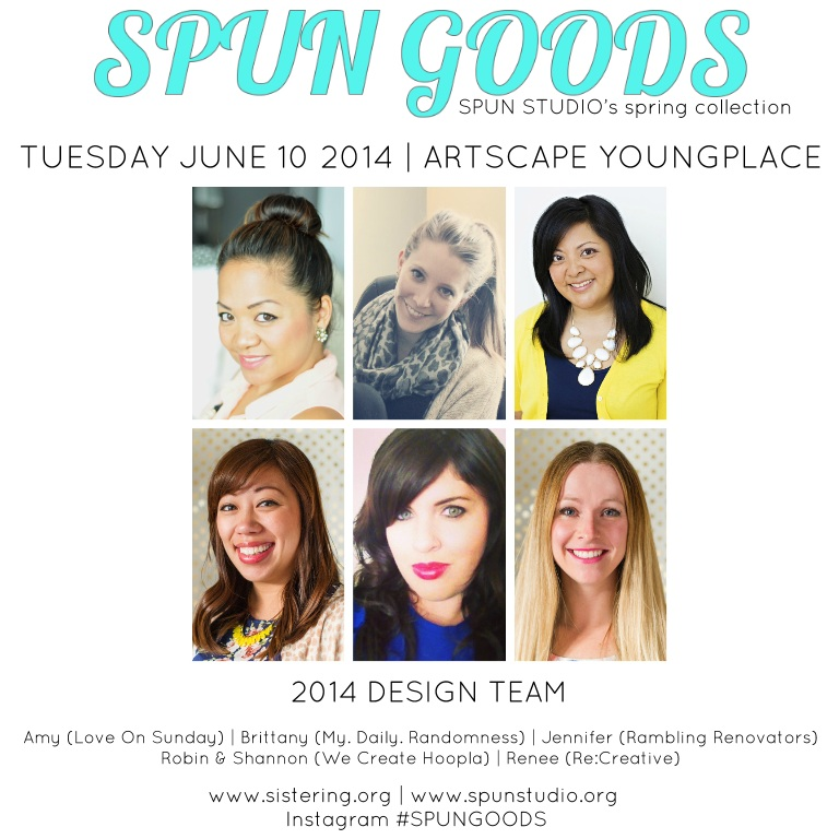 SPUN GOODS 2014 DESIGN TEAM
