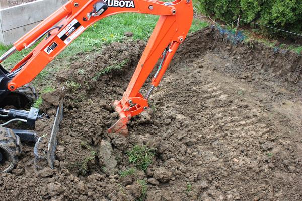 Digging-Poured-Concrete-Patio