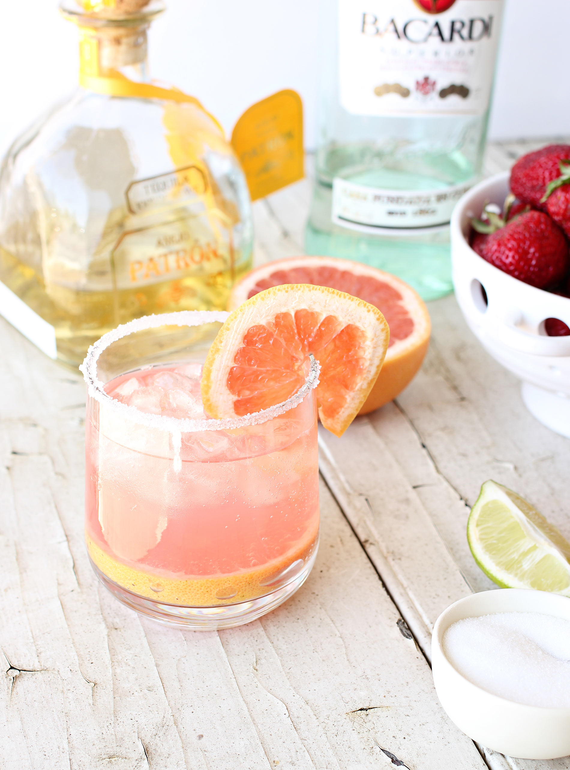 Tequila Ruby Red Grapefruit Paloma with SodaStream