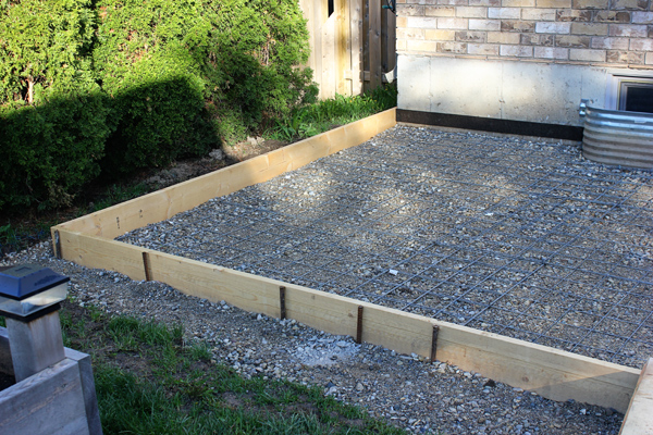 Project Backyard // Prepping for a Concrete Pad - Brittany Stager