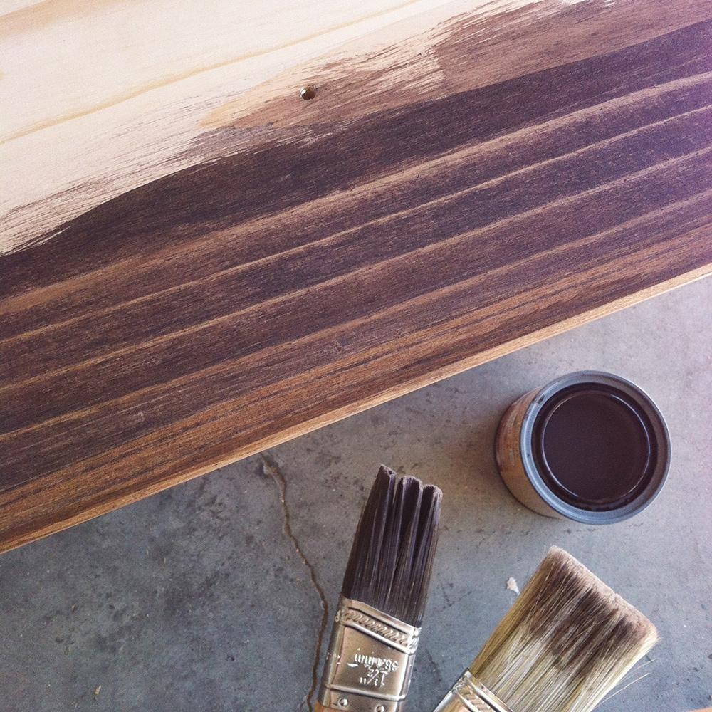 Staining Ikea Rast Dresser Hack