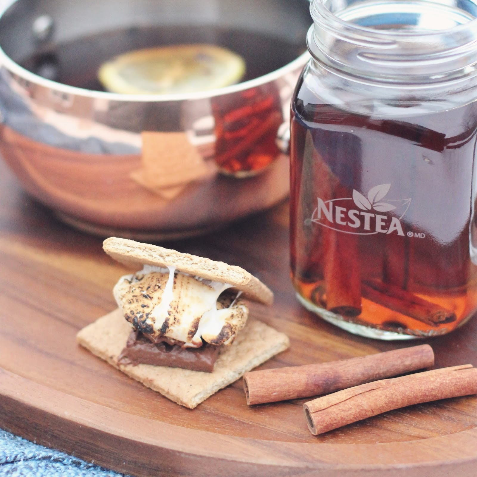 Mulled-Currant-Tea-Nestea-Smores