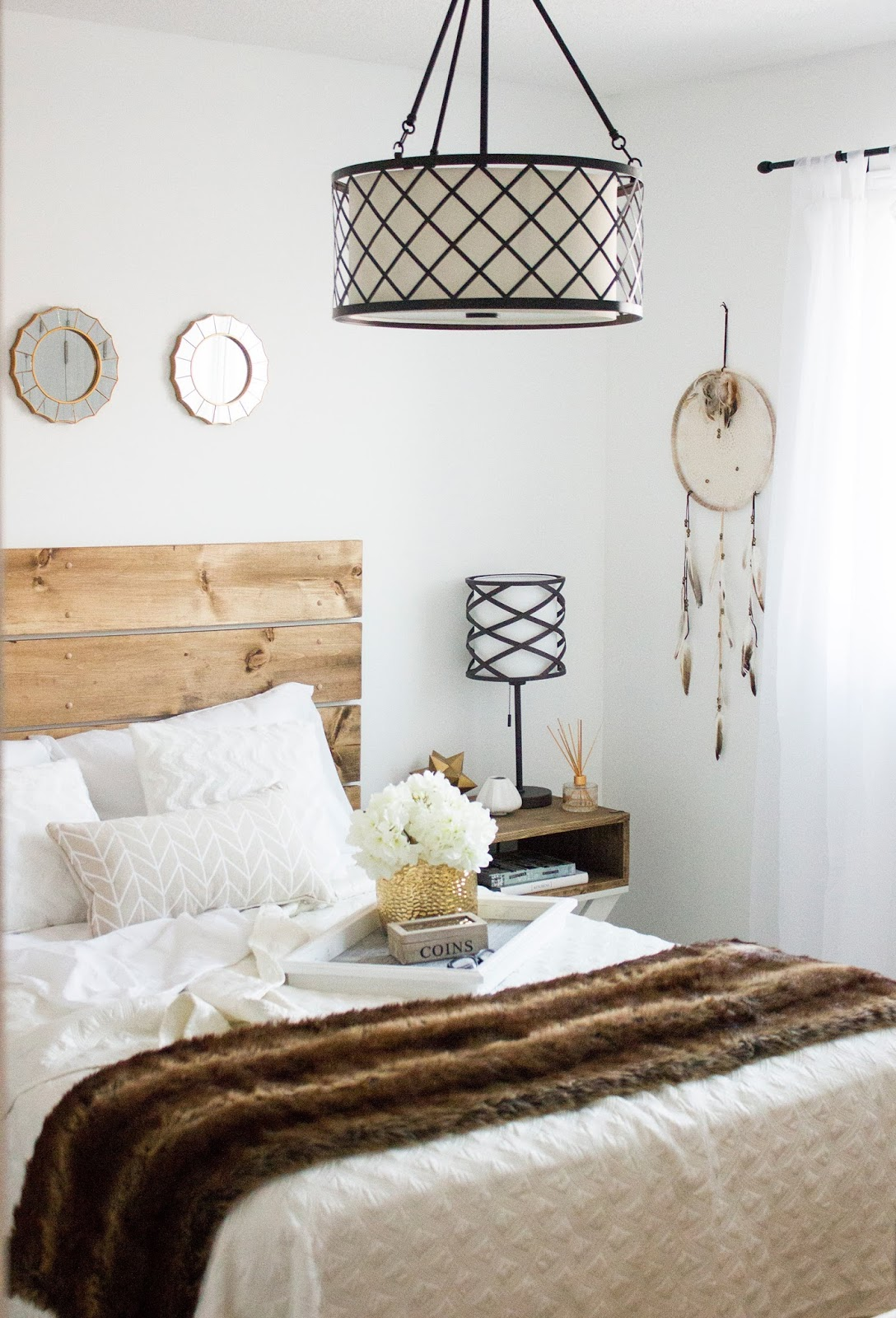 How To Build Diy X Stand Nightstands And A Headboard