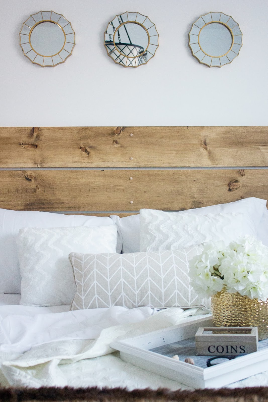 DIY-Pine-Board-Headboard