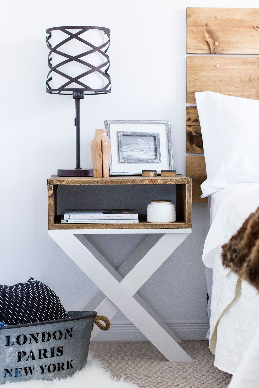 Hdblogsquad Diy Nightstands Amp Headboard Brittany Stager