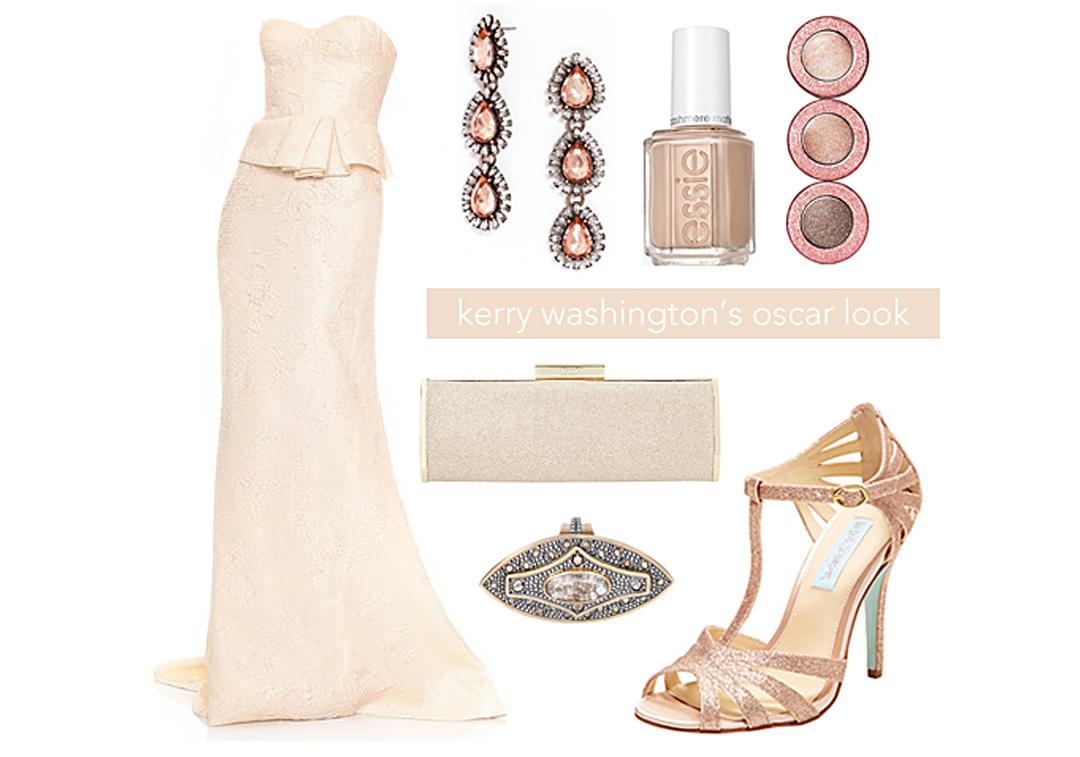 Kerry Washington Oscar Dress Designer