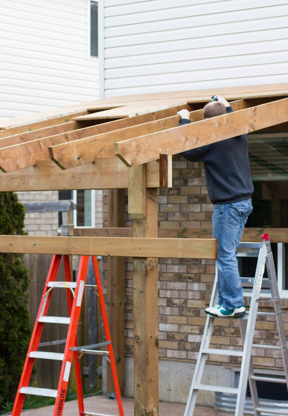 - HDBlogSquad // How To Build A Covered Patio • Brittany Stager