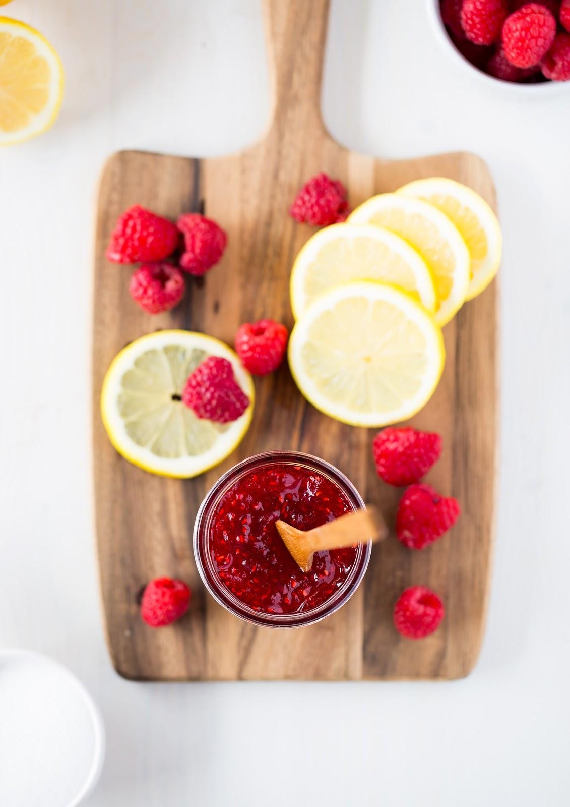 Lemon Raspberry Jamalade