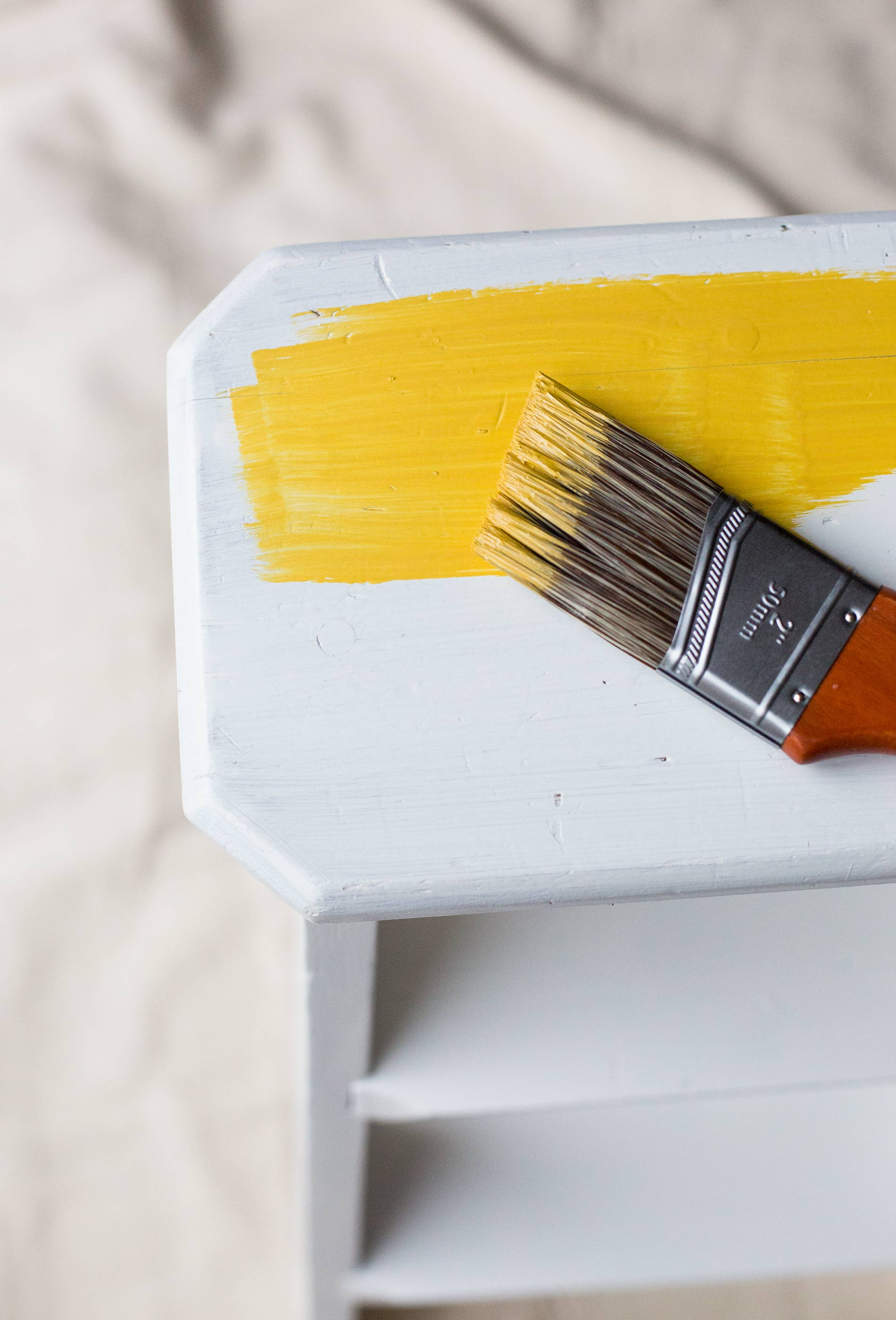 Gold-Paint-CIL-Step-Stool