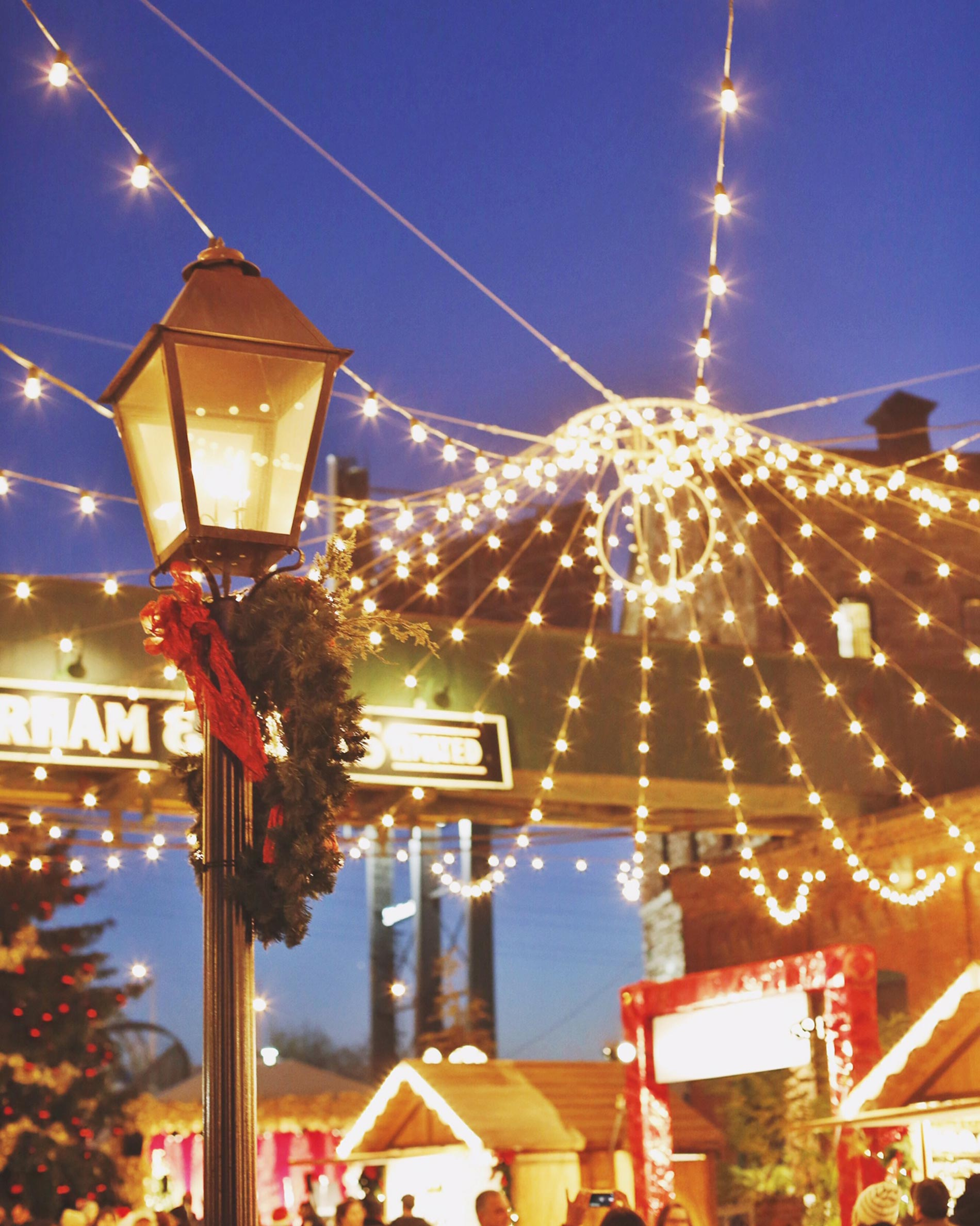 Toronto Christmas Market in the Distillery District