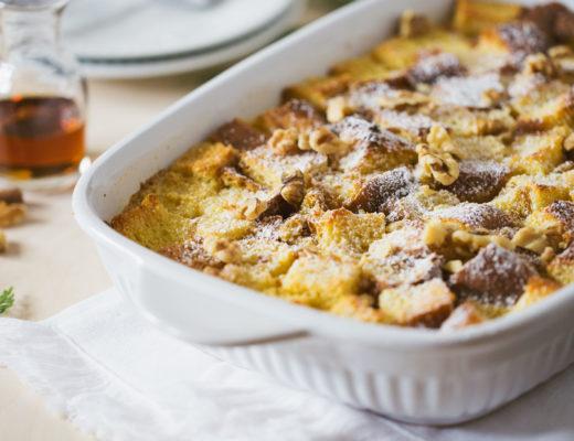Eggnog Bread Pudding Recipe