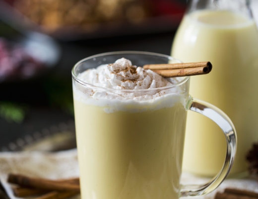 Disaronno Christmas Egg Nog Recipe
