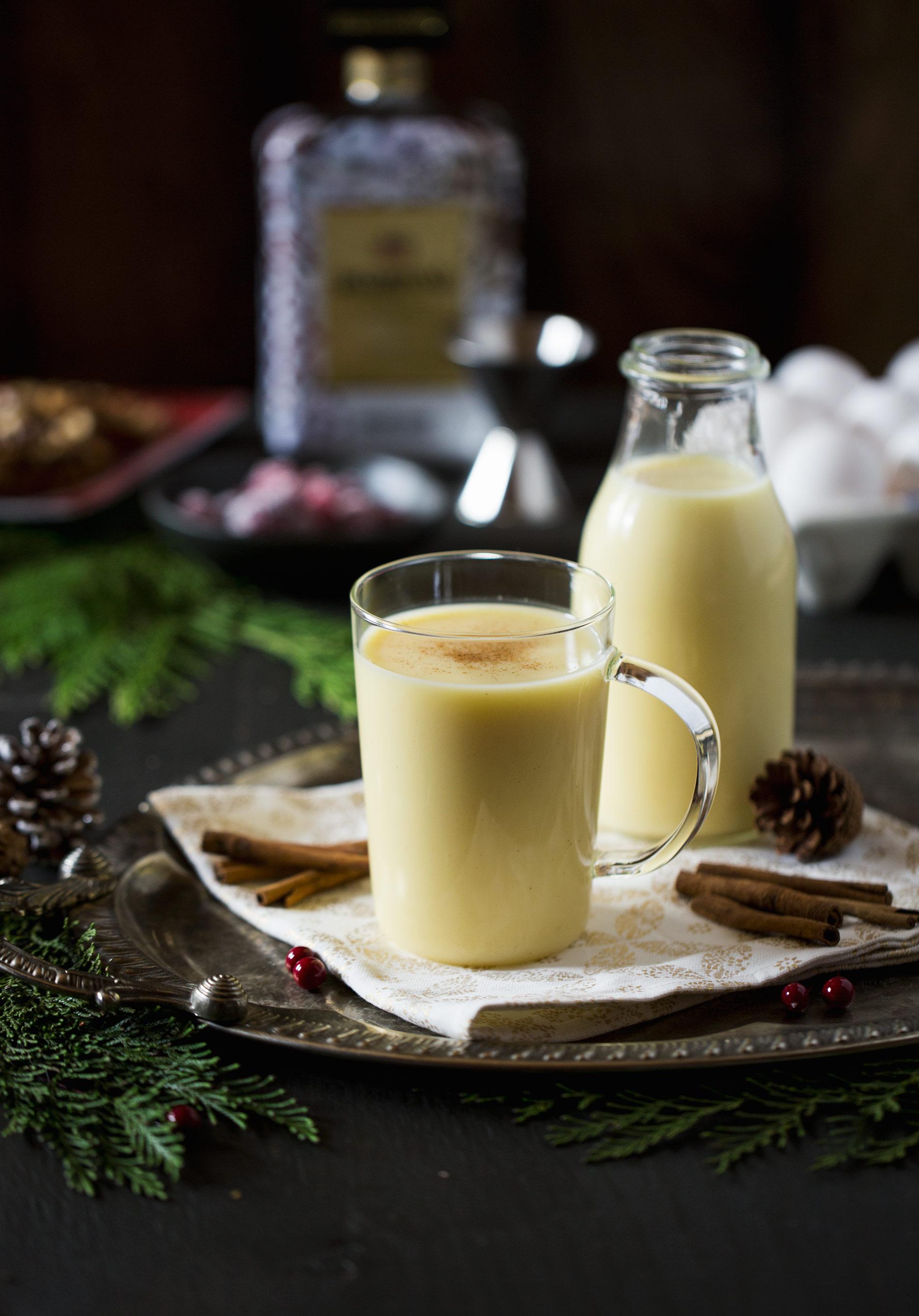 Disaronno Christmas Egg Nog Recipe