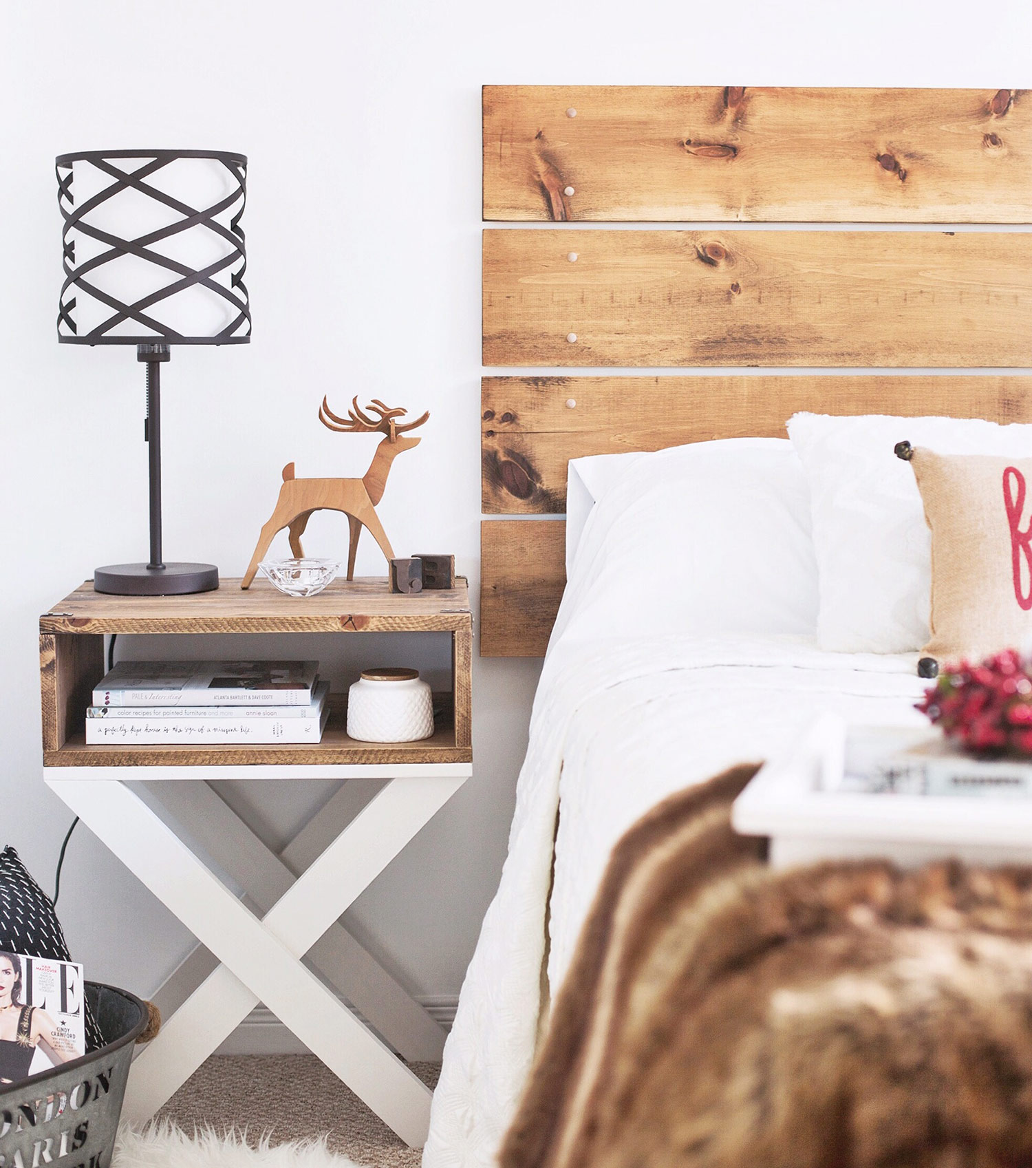 Guest Bedroom Christmas Decor