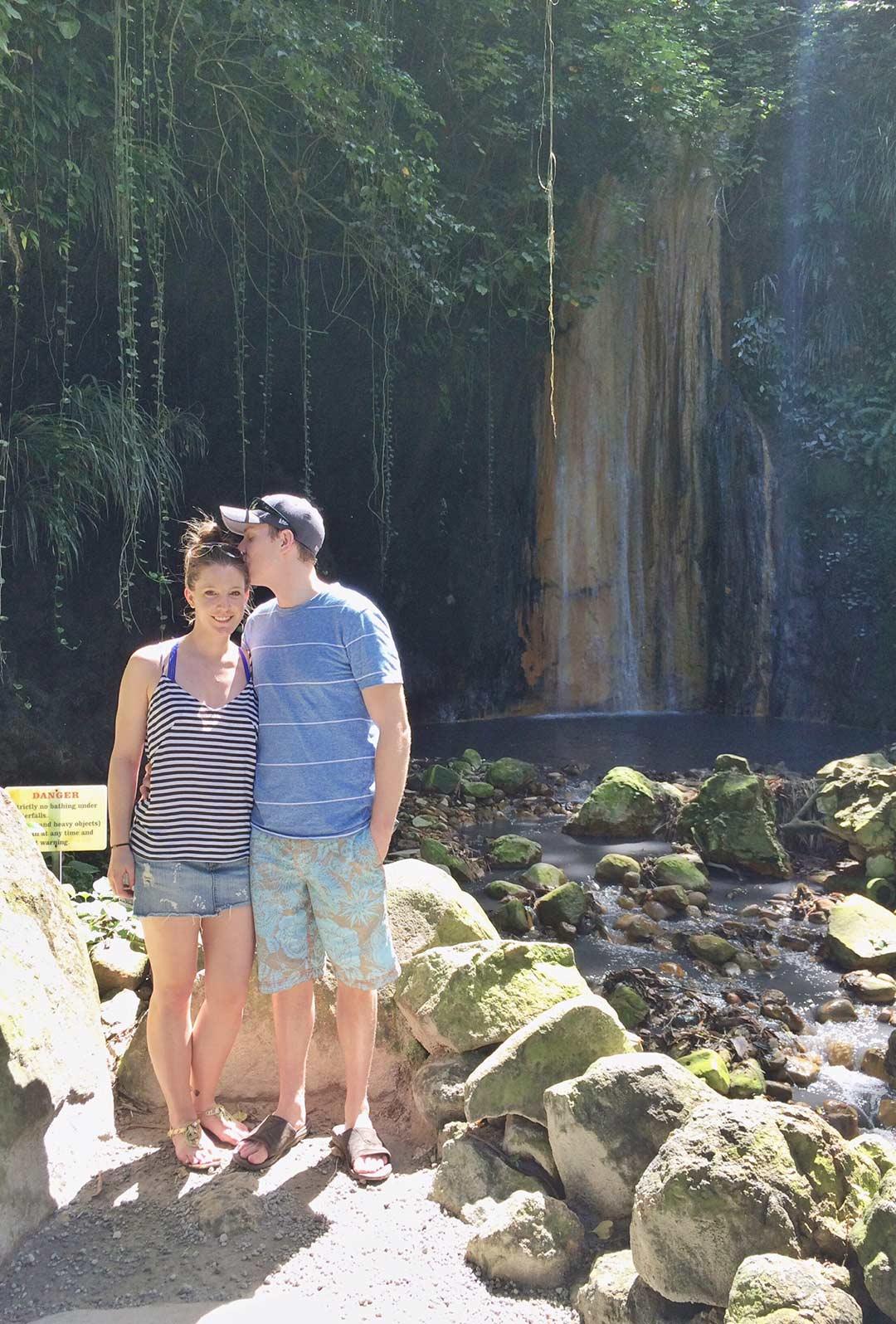 St-Lucia-Botanicals-Garden-Waterfall