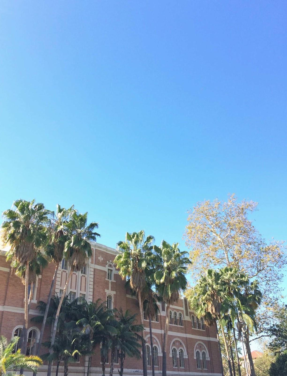 California-LA-Blue-Skies