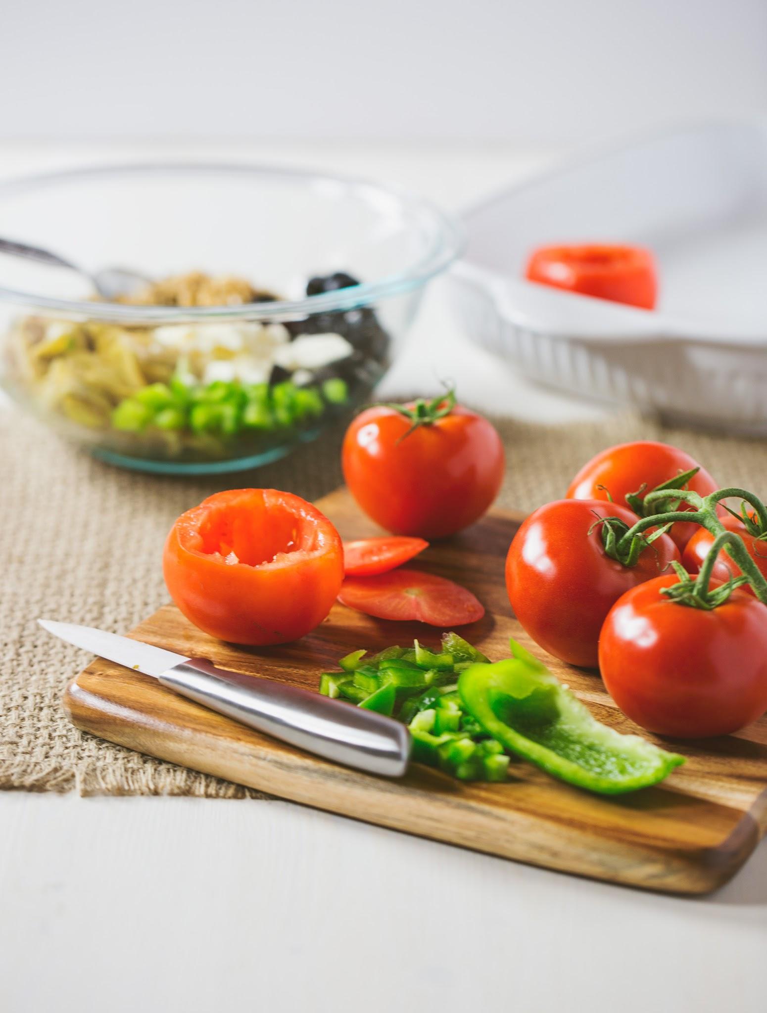 Greek-Stuffed-Tomatoes