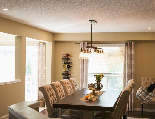 Installing a new dining room light!