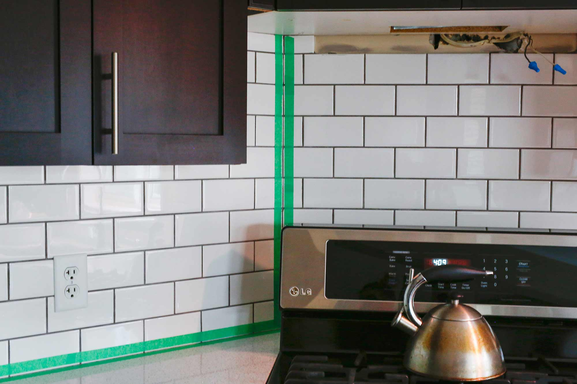 - How We Installed Our Subway Tile Backsplash • Brittany Stager