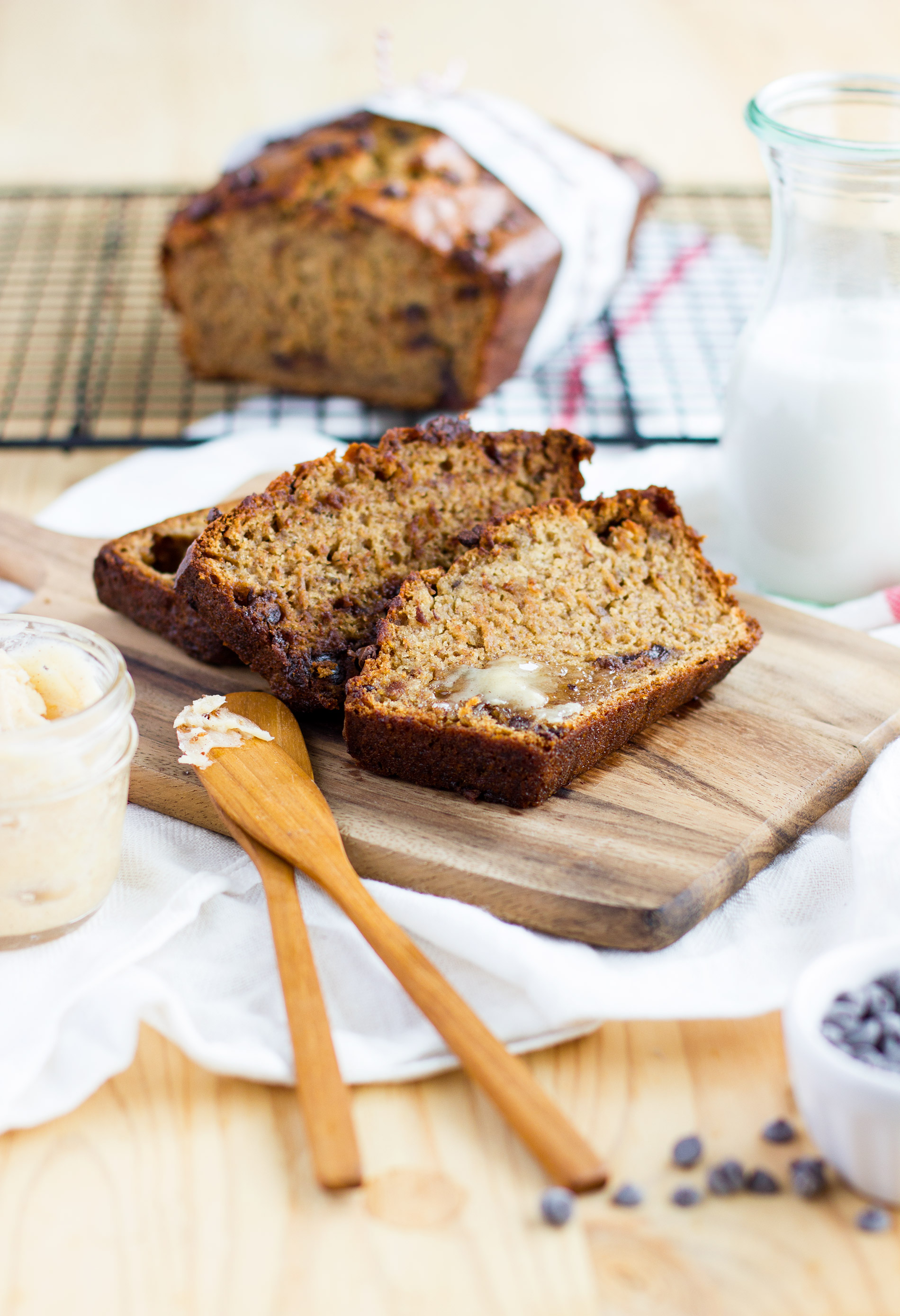Best Ever Chocolate Chip Banana Bread Recipe