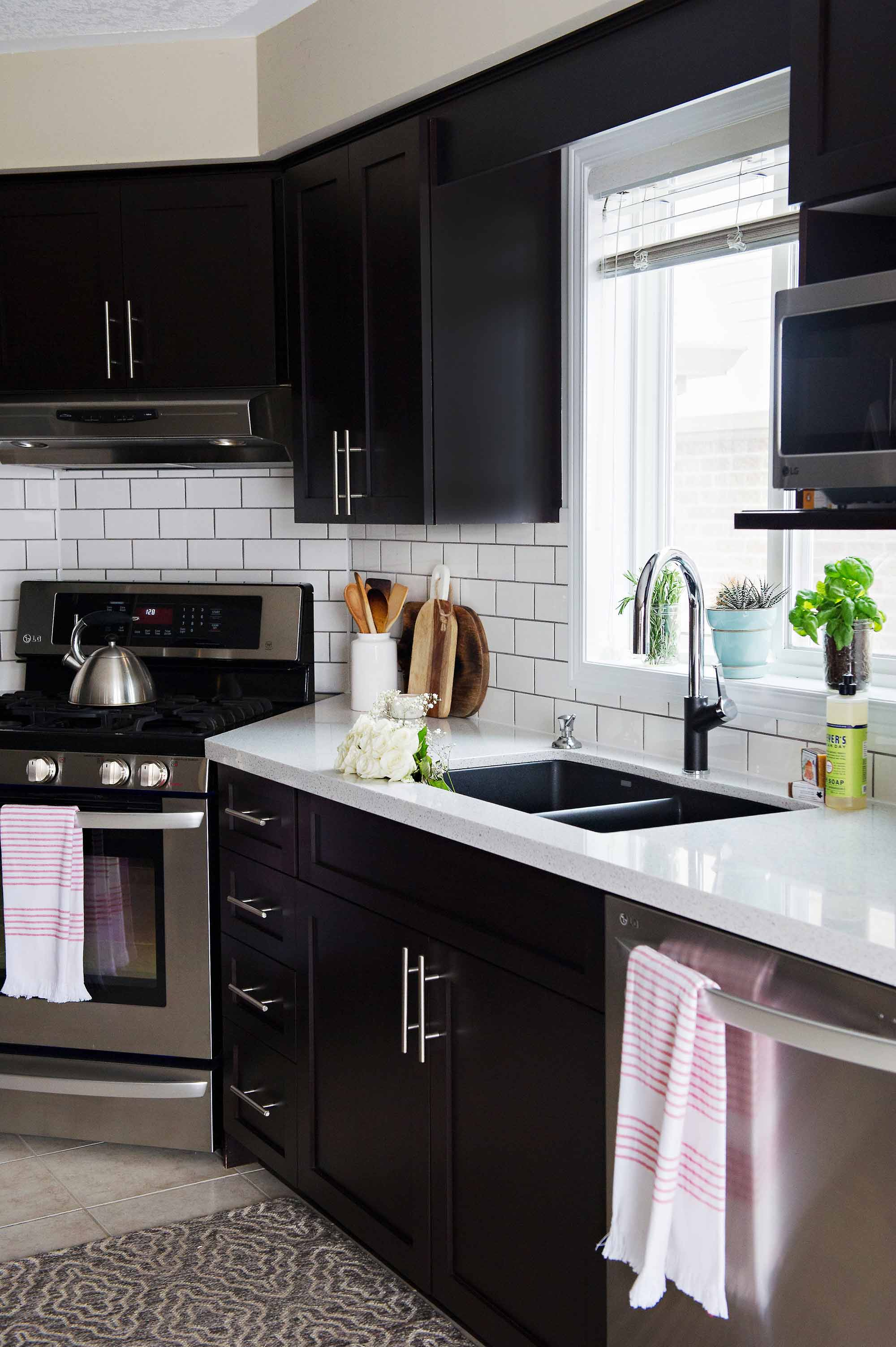 Home Depot and Renuit Kitchen Refacing Project Reveal