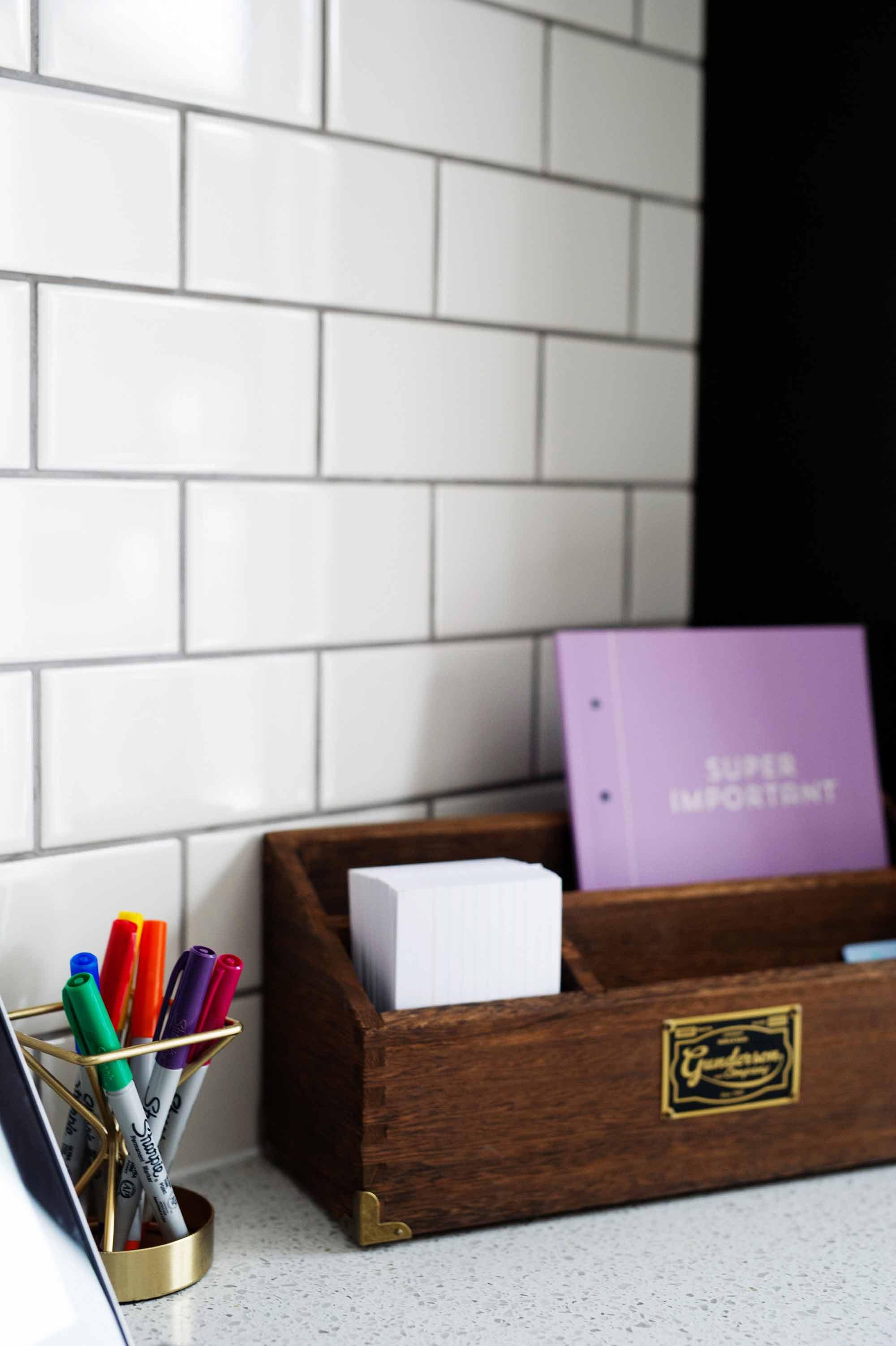 Kitchen Desk Details Review