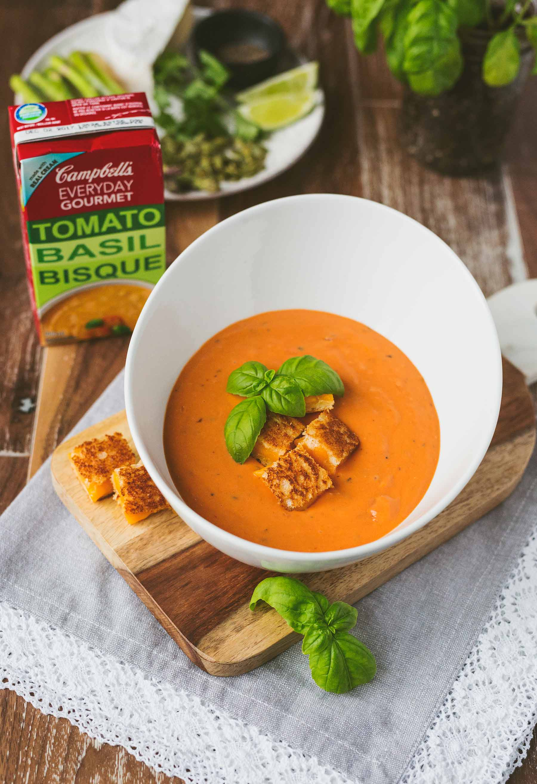 Campbell's Everyday Gourmet Tomato Basil Bisque