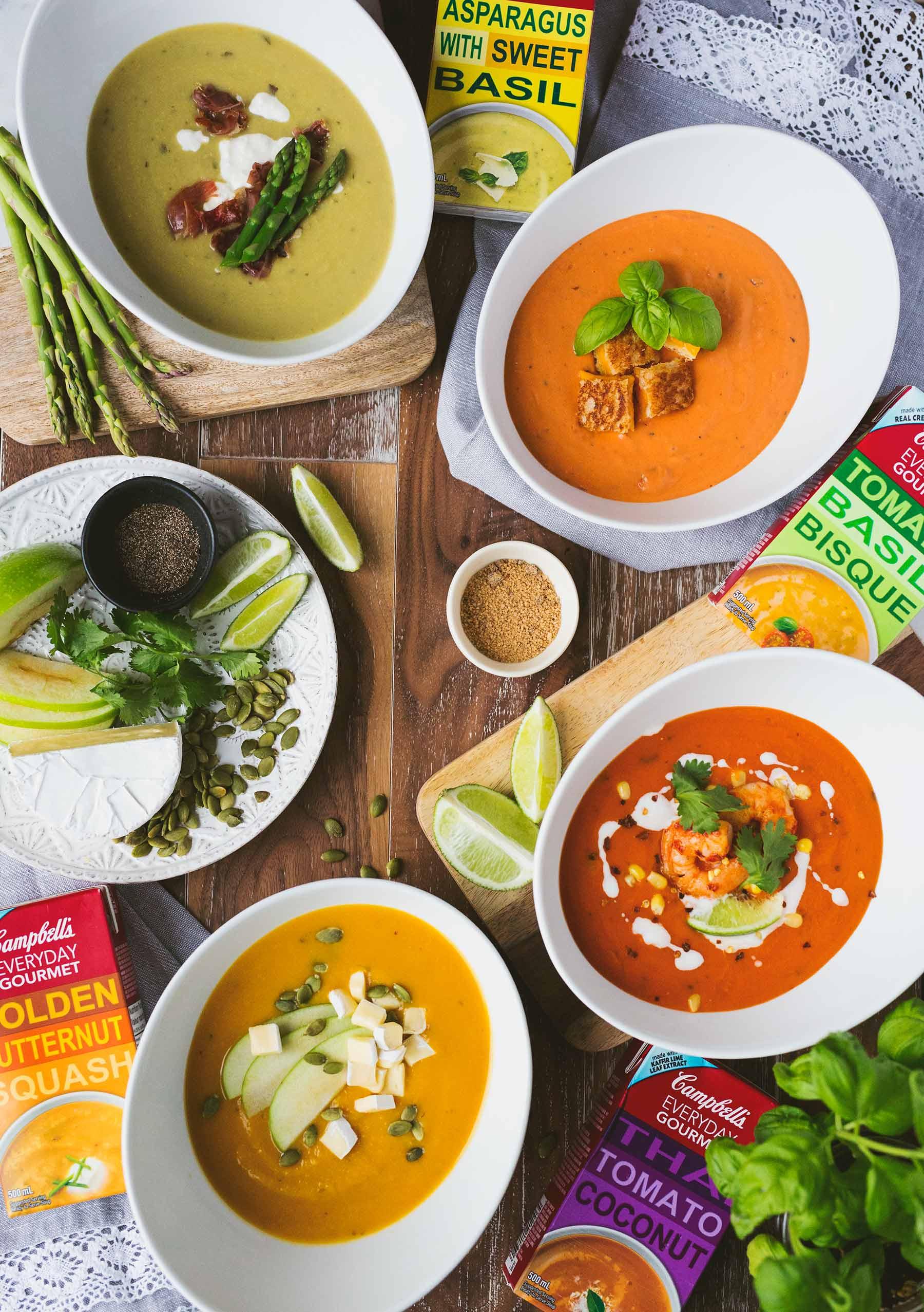 Campbell's Everyday Gourmet Soup Cartons